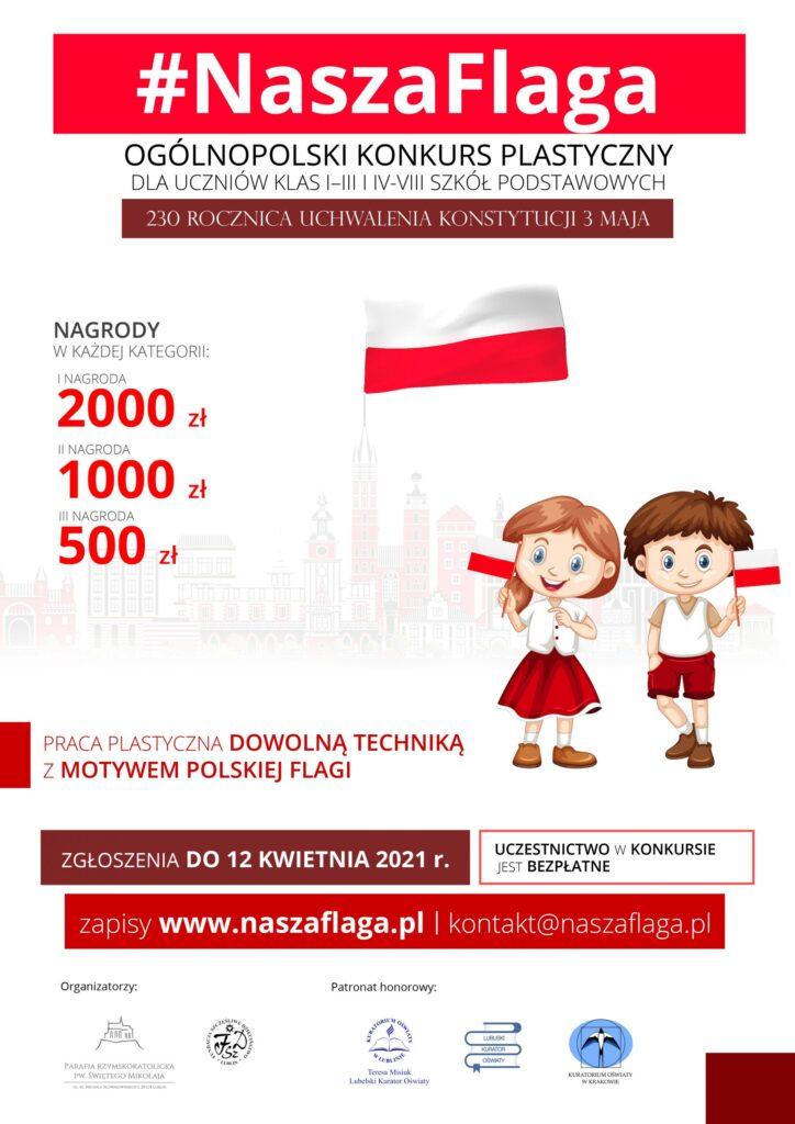Nasza flaga - ogólnopolski konkurs na plakat